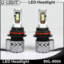 Ulightcn 9007 9004 led headlight bulbs CR XHP50 chips 70W 6000lm 9004 LED Car headlamp Bulb from big factory