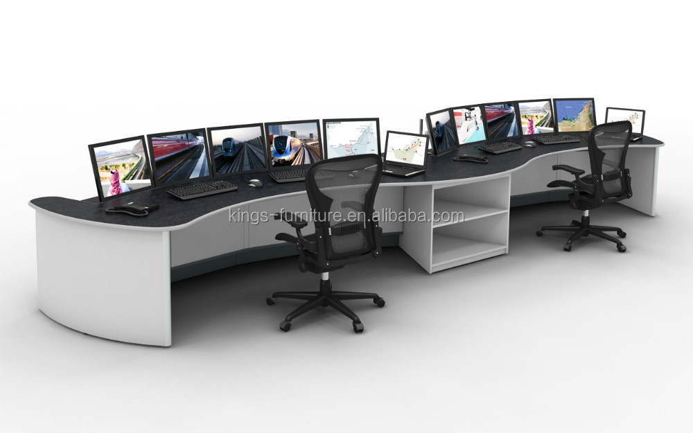 CCTV Surveillance Workstation Control Room Console KT06