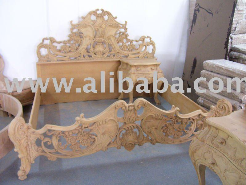 chambre a coucher blanc classique classique chambre sculpt la main lit antique id - Chambre A Coucher Modele Turque