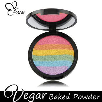 Hot pressed powder gleaming kit light your skin compact powder
