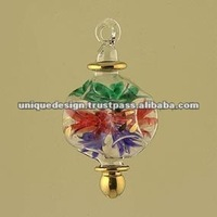 Egyptian Handblown Glass Christmas Tree Ornaments