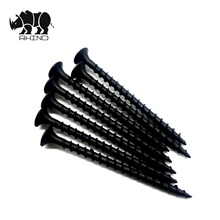 Good selling <strong>Black</strong> gypsum phosphated bugle head coarse thread oxidir <strong>drywall</strong> <strong>screw</strong>