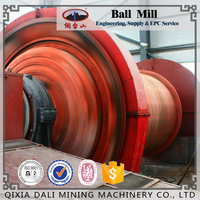 Wet Type ore grinding Overflow Ball Mill Energy Saving High Power