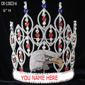 Custom rhinestone eagle shape pageant crown
