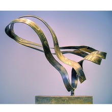 Modern decoration abstract stainless steel sculpture for sale