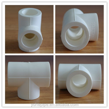 YUHE high quality ppr pipe fittings variety sizes reducing or equal Tee buy ppr pipe fittings on alibaba