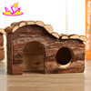 New products three sizes natural wooden big hamster cages for pet supplies W06F022