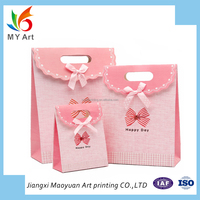 Chinese factory OEM service custom different size luxury gift paper bag