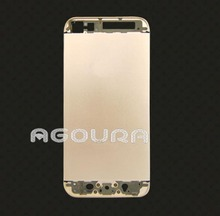 Champagne color back housing,gold plating luxury cell phone housing for iPhone5 5S