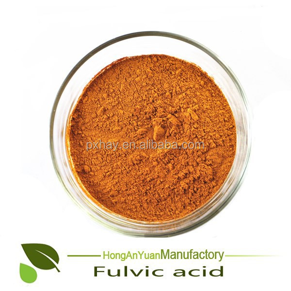 High quality HAY fulvic acid powder organic fertilizer for agriculture grade /industry grade