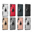 New coming !raindrops holder TPU+PC combo case for iphone x , back cover case mobile accessories