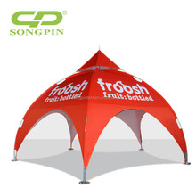 3*3 Aluminum pole tipi outdoor advertising lager arch round dome tent wholesale price
