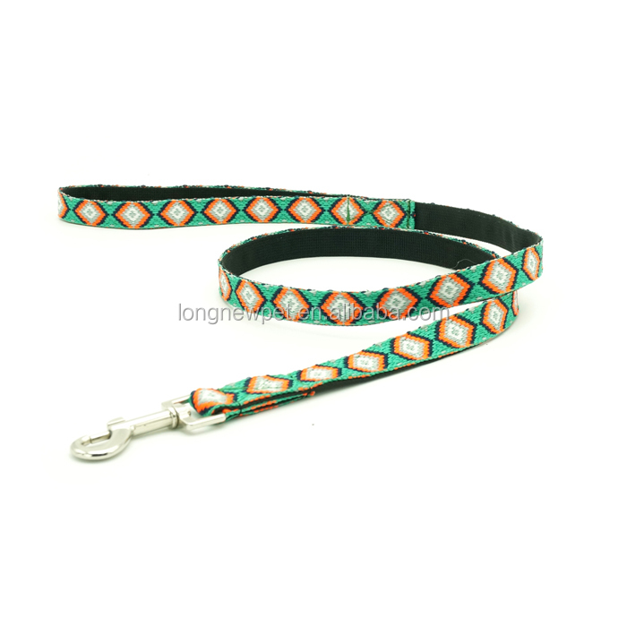 Embroidered Unique Puppy Dog Collars and Leads Ethnic Style Designer Pet Accessories