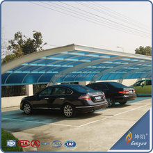 Factory direct polycarbonate material 40mm for car parking roof