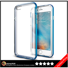 Keno Clear for iPhone 6 / 6S Case Thin Transparent Soft Gel TPU Silicone Case Cover Fashion Skin For iPhone