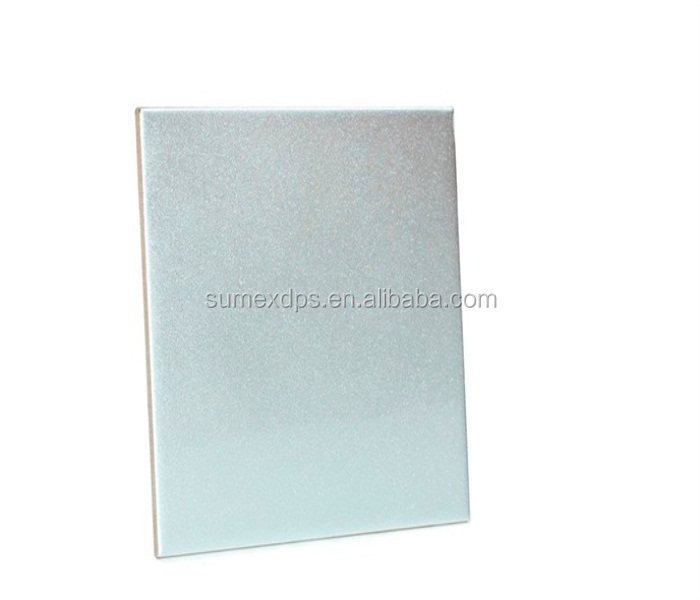 OEM Service Blank Sublimation Silver Tile for Heat Transfer Printing