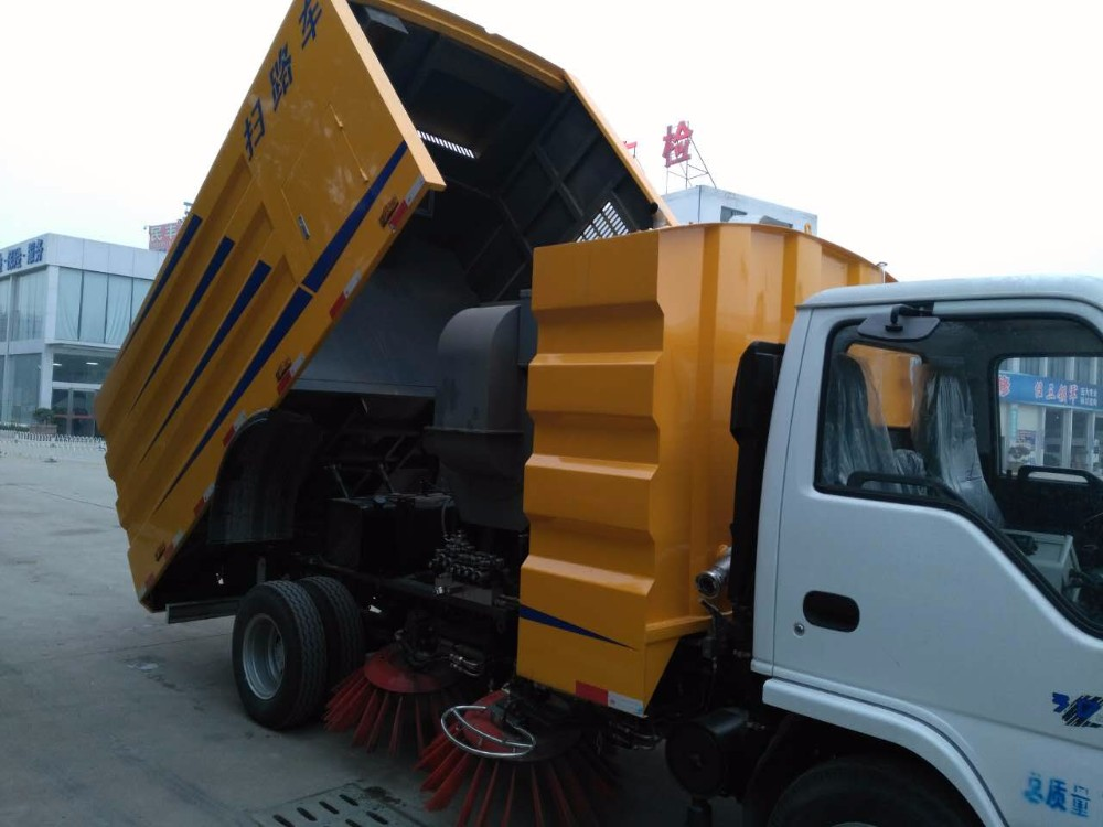 Small tyre guaranteed 100% newest price of road sweeper truck