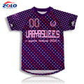 Hot sale sublimation sportswear design lacrosse uniforms t shirt men