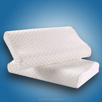 High quality custom made OEM white memory foam pillow wholesale