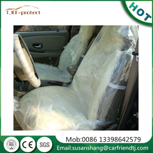 Good performance auto seat covers/clear plastic car seat covers made in China for auto service with sgs certificate