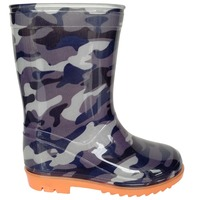 traditional camouflage cheap PVC rain boot wellies for kids