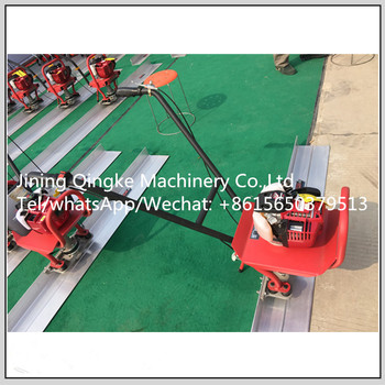 Stainless steel Honda power vibratory floor leveling surface finishing machine