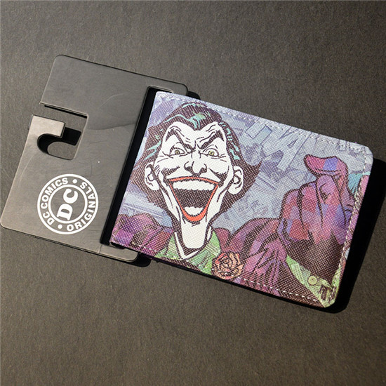 Wallet DC Comics Movies Suicide Squad The Joker Harley Quinn Enchantress And Bat Man Short Wallets With Card Holder Purse