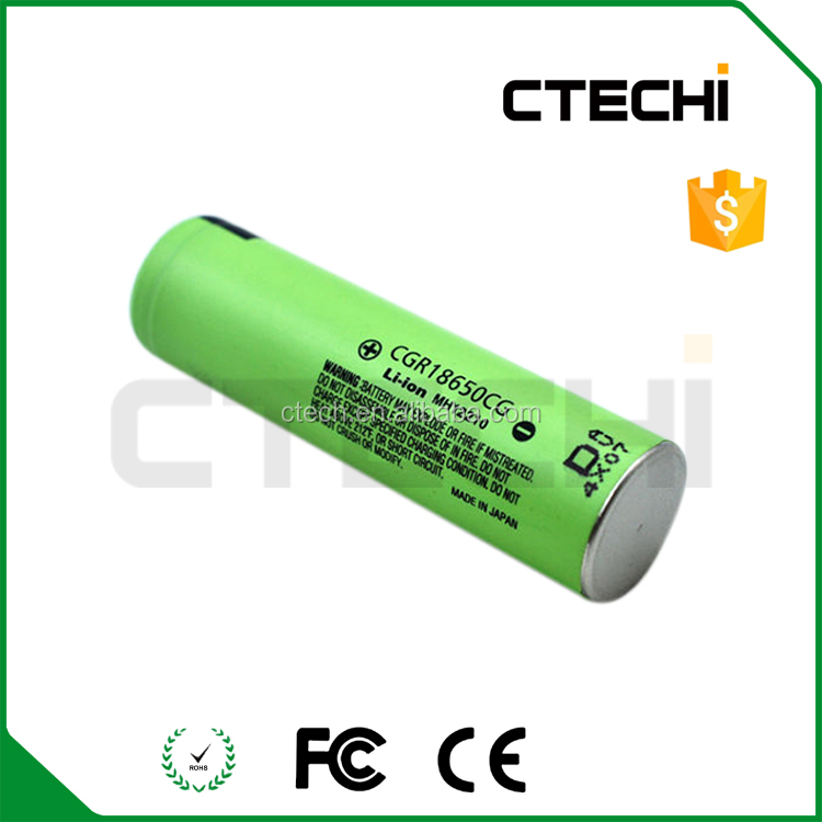 100% original CGR18650CG 3.7V 2200mAh rechargeable battery 18650 cell