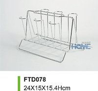 Kitchen Drying Metal Wire Cup Hangers Rack