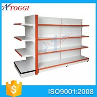 multipurpose metal display store shelf