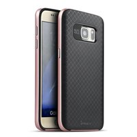 for Samsung S7 Case iPaky Frosted Surface Anti-fingerprint PC + TPU Back Cover Case for Samsung Galaxy S7