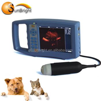 Small size portable SUN-V1 animals pregnancy fetaltest cheap vet ultrasound