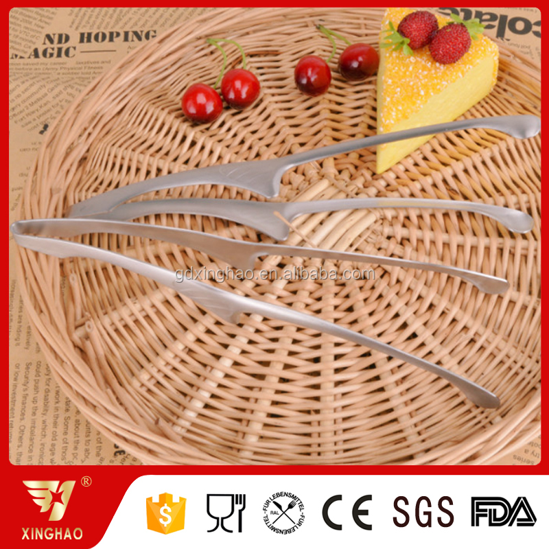 Audit factory FDA approved 100% Food Grade bbq kitchen tongs food service tongs