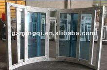 pvc sliding blind inside double glass window
