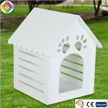 The wooden wooden pet kennel dog cage waterproof breathable outdoor kennel kennel wholesale wooden dog house