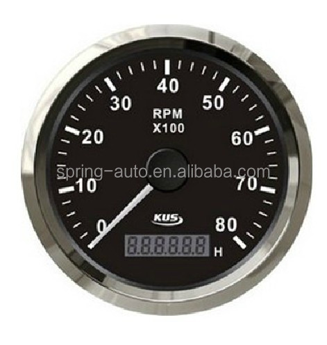85mm tachometer 0-8000RPM for generator engine