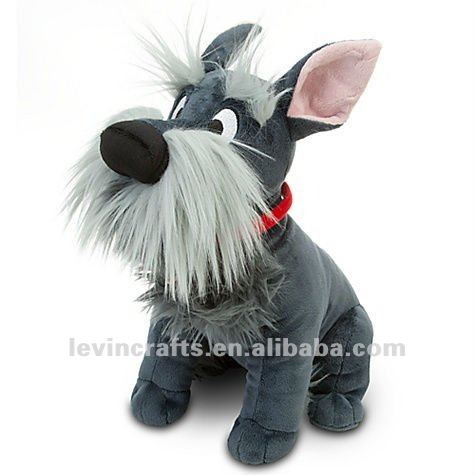 "LADY AND THE TRAMP 12"" PLUSH JOCK GENUINE ORIGINAL"