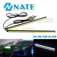 Hotsaling CAR LED COB DRL High Power 20CM Auto Led Daytime Running Light