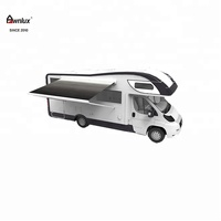 Outdoor comfortable horse camping trailer awning