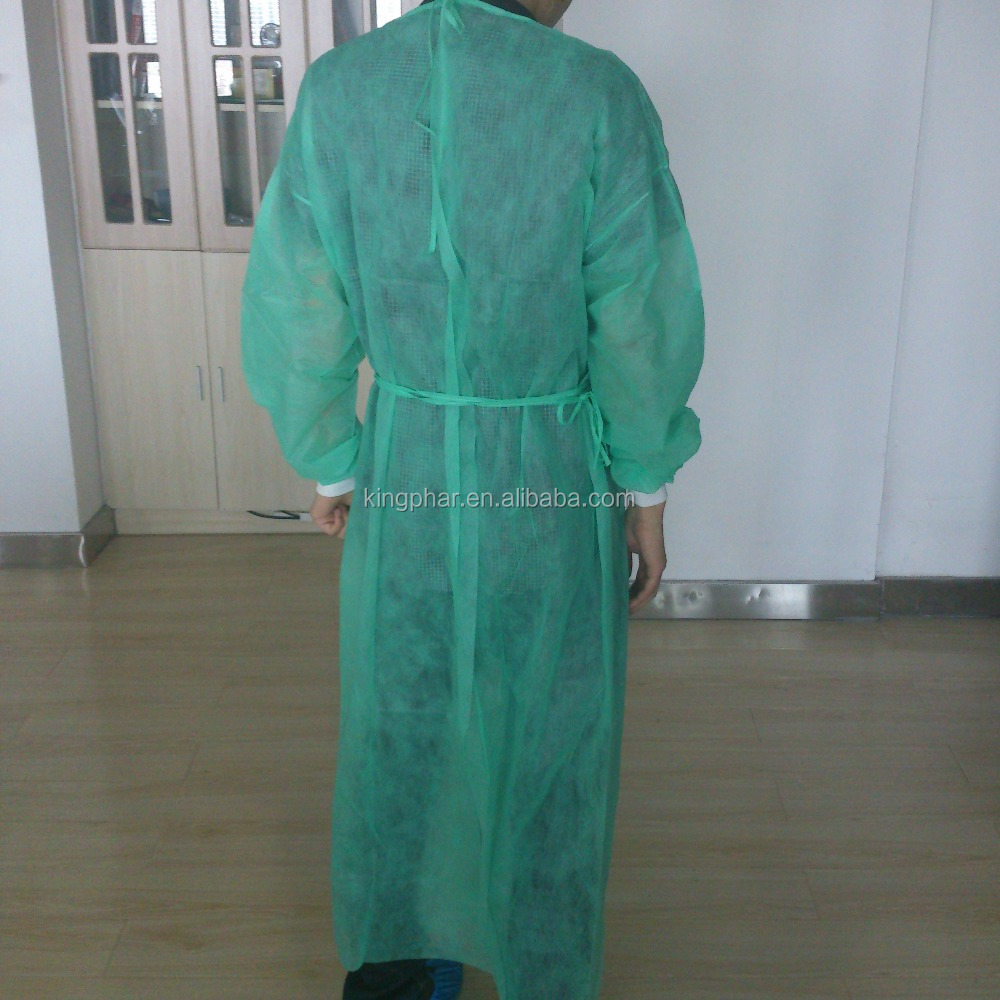 nonwoven disposable Isolation clothes/surgical gown surgical drapes gowns biodegradable medical gowns not available in the US