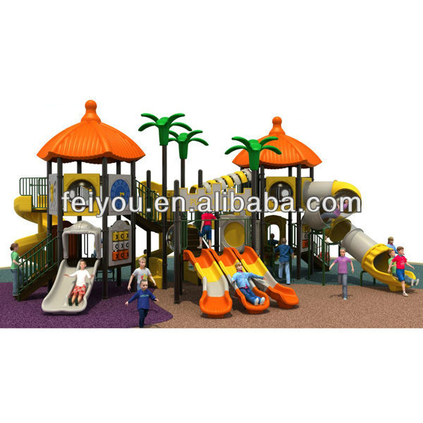 2013 play land bounce slide park plastic slide pirate pleasure park for sale outdoor playground equipment amusement ride