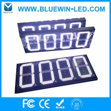 High brightness wireless LCD remoter led gas price display/led gas station sign/led fuel
