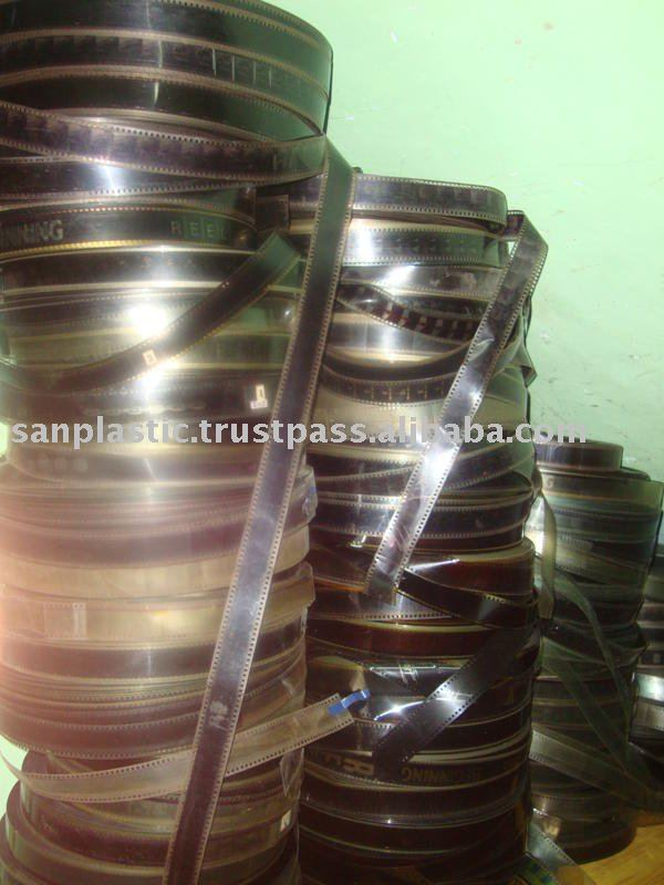 PET MOVIE FILM SCRAP