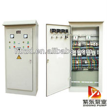Water pump electric control panels