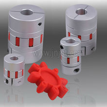 Jaw Type Backlash Free Elastomer Inserted Couplings