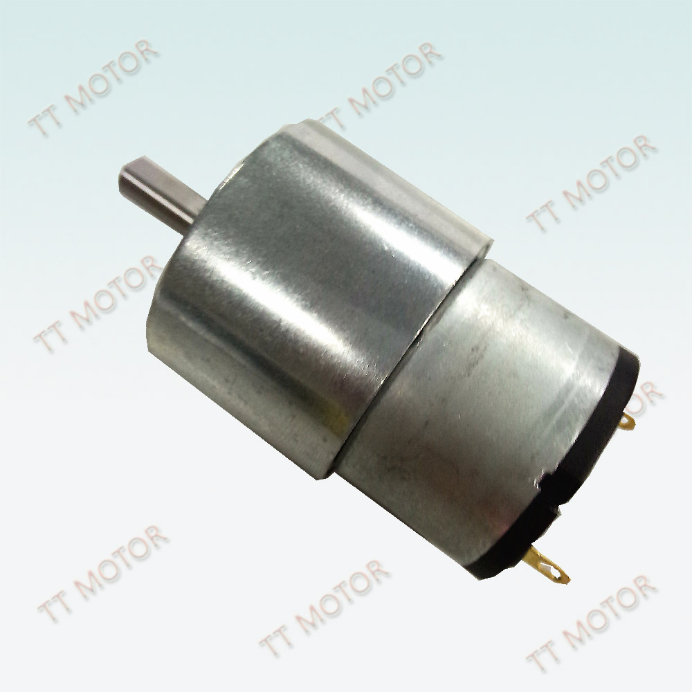 Tt 24v Hobby Small High Power Electric Motor With Gearbox