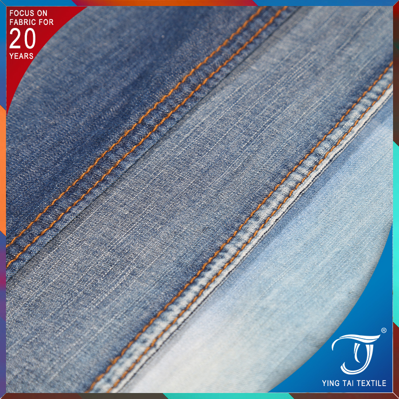 China professional manufacturer bamboo denim fabric 100 cotton fabric denim for jeans