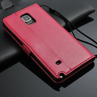 Leather Wallet Flip Case Cover Pouch For Samsung Galaxy Note 4