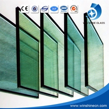 Manufacture energy saving insulated low-e glass curtain wall/building glass