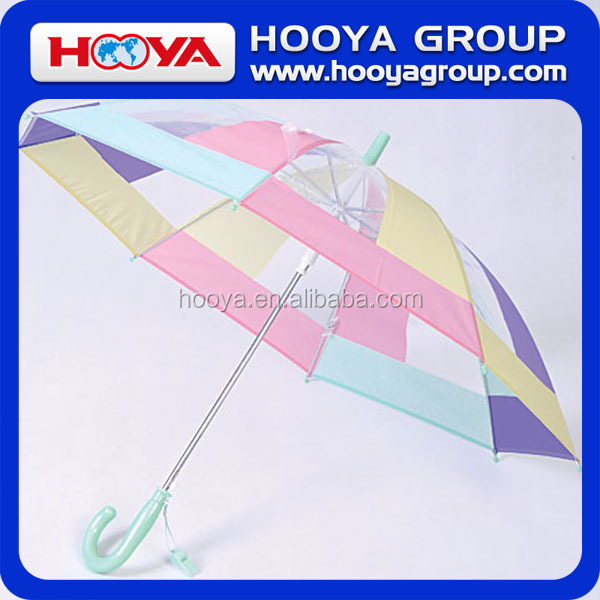 "18.5""*8K Colors Grids Auto Open Straight POE+ EVA Children Umbrella"